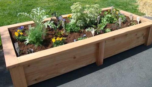 Raised Vegetable Garden Bed Plans